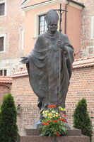 a monument to Pope