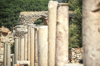 Turkey, Ephesus, ruins of the ancient roman city