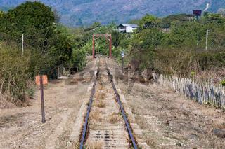 Zugverbindung  Trinidad - Valle de los Ingenios