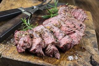 Grilled Steak Slices