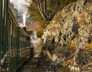 End of World Train (Tren fin del Mundo), Tierra del Fuego, Patagonia, Argentina