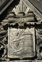 Relief am Städtischen Museum in Flensburg
