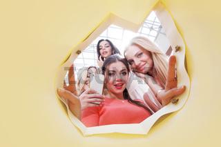 women looking inside bag