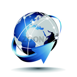 Earth of internet network