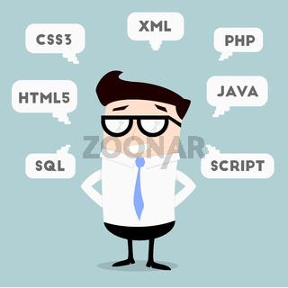 Businessman Programming Languages