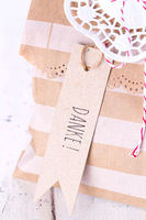 Gift bag with german