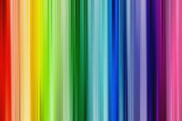 Rainbow background. Bright and soft colorful straight design with pattern.