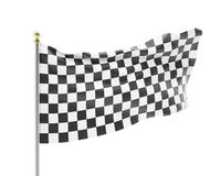 racing flag isolated on a white background.