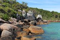 Naturpools in Barra da Lagoa auf Florianopolis