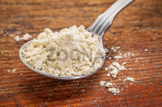 tablespoon of quinoa flour