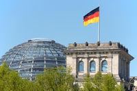 German Parliament, Bundestag in Berlin