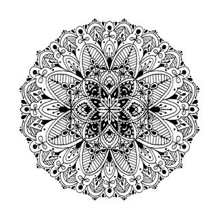 Mandala, circle ornamental pattern for your design