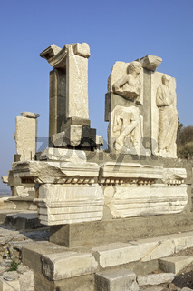 Remains Of The Gate of Heracles Ephesus Turkey