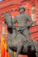 Marshal Zhukov monument