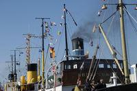 Dampfer im Flensburger Hafen