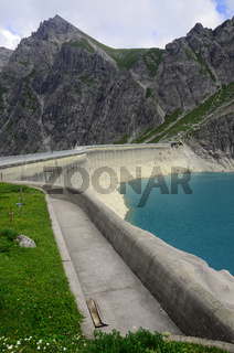 Luenersee in Vorarlberg, Oesterreich, Europa