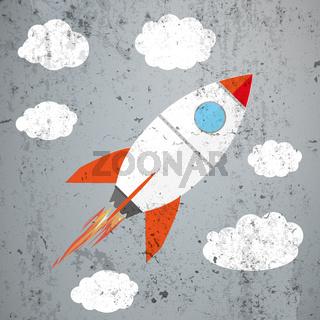 Rocket Clouds Concrete
