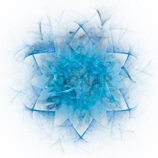 Blue flake