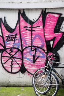 Fahrrad im Schanzenviertel, Hamburg