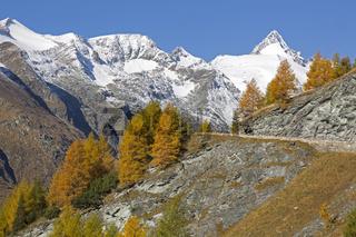 Großglockner, Hochalpenstraße, Nationalpark Hohe Tauern, Österreich, Europa