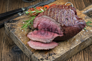 Barbecue Haunch of Venison