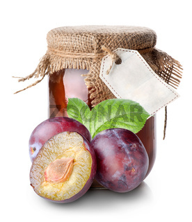 Plums and confiture