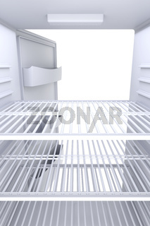 Inside of refrigerator