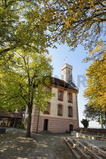Die Veitsburg oberhalb der Stadt Ravensburg