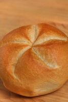 Sternsemmel, Bäckersemmel, Semmel, Holztisch