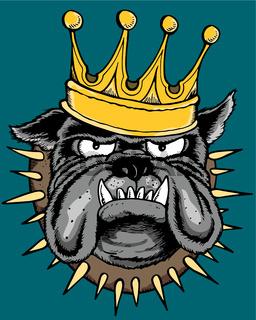 el perro rey
