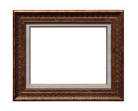 Classic painting canvas frame isolated