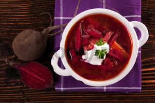 Borscht soup.