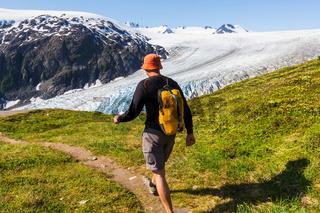 Hike in Exit glacier