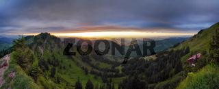 Panorama - Licht - und Wetterstimmung - Nagelfluhkette