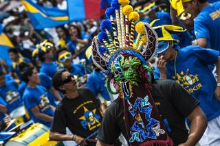 Dancers At A Parade, Quito's Day, Ecuador