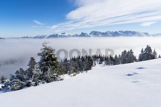 Unberührte Winterlandschaft
