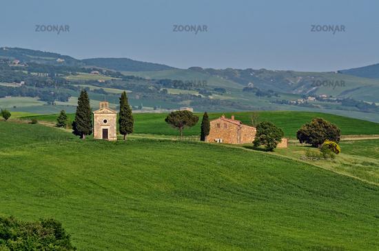 Kapelle Vitaleta - Toskana