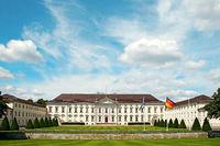 Schloss Bellevue Berlin Deutschland / Castel Bellevue Germany
