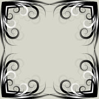 Symmetric grey background