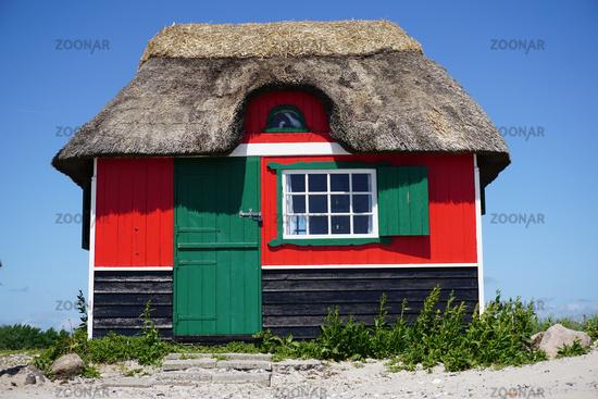 Strandhaus auf der Insel Ärö