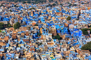 Jodhpur the Blue city, Rajasthan, India