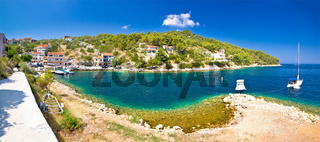Dugi otok island village summer view