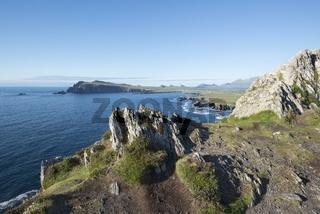 Irland, Küstenlandschaft am Atlantik