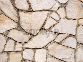 Unregelmäßige Sandsteinplatten als Hintergrund