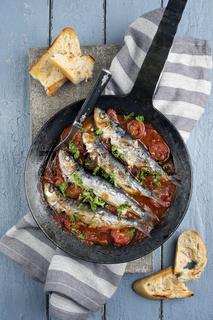Sardine en Salsa