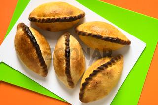 Bolivian Saltena Savory Pastries