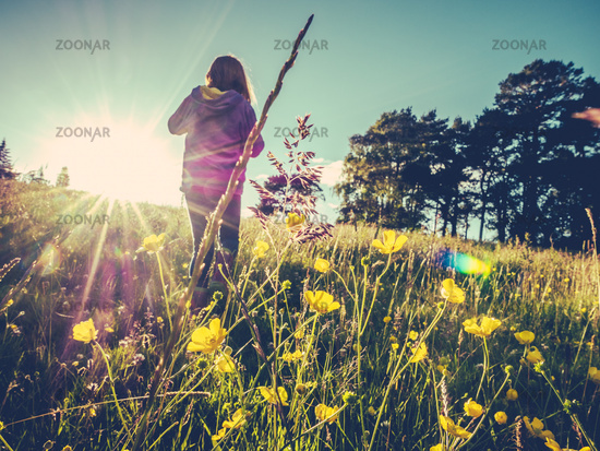 Summer Meadow Child