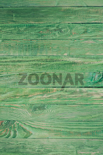 Wooden green background