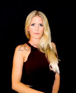 Model Julie (blond)
