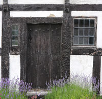 Lavendel vor altem Fachwerkhäuschen.jpg